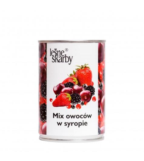 Leśne Skarby - Mix owoców w syropie