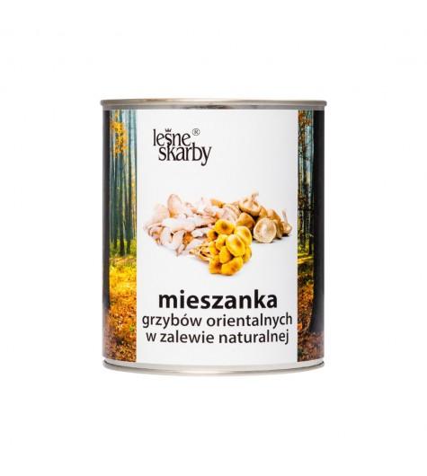 Mieszanka grzybów do gastronomii w zalewie naturalnej - Leśne Skarby