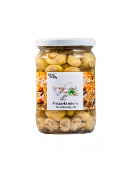 Forest Treasures - Salted mushrooms a'la Russian taste - Champignon