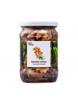 Forest Treasures - Salted mushrooms a'la Russian taste - Honey Mushrooms
