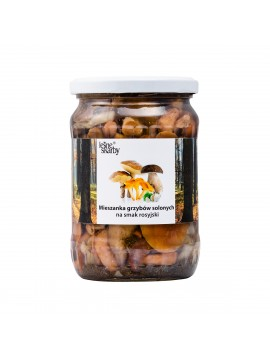 Forest Treasures - Salted mushrooms a'la Russian taste - Mixed Mushroom Asorti