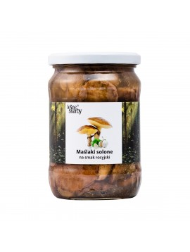Forest Treasures - Salted mushrooms a'la Russian taste - Slippery Jack