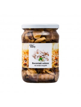 Forest Treasures - Salted mushrooms a'la Russian taste - Oyster mushrooms