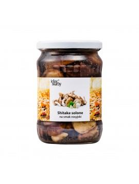 Forest Treasures - Salted mushrooms a'la Russian taste - Shiitake