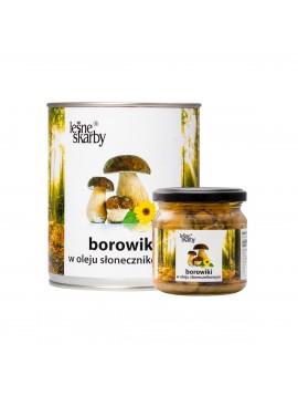 Leśne Skarby - Borowiki w oleju