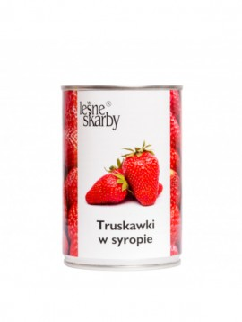 Forest Treasures - Strawberry in syrup
