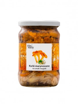 Forest Treasures - Marinated a'la Russian taste - Chanterelle