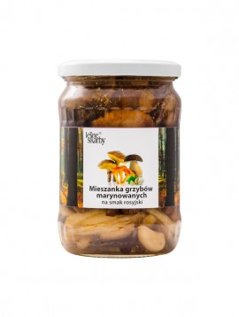 Forest Treasures - Marinated a'la Russian taste - Mix mushrooms