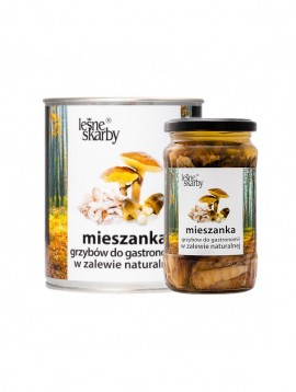 Forest Treasures - Mushrooms in natural brine - Horeca Mix
